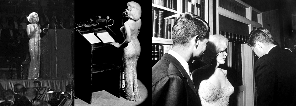 Marilyn Monroe Happy Birthday Mr. President John F. Kennedy