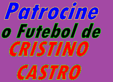 Patrocine o Futebol de  Cristino Castro e tenha sua marca divulgada neste blog.