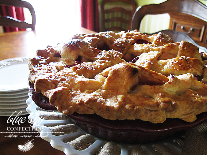 Blue Sky Confections: Apple-Blackberry Pie