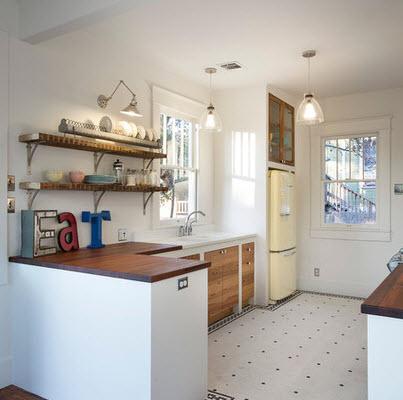 Cocinas decoradas con piedras - Pisos para cocinas ...