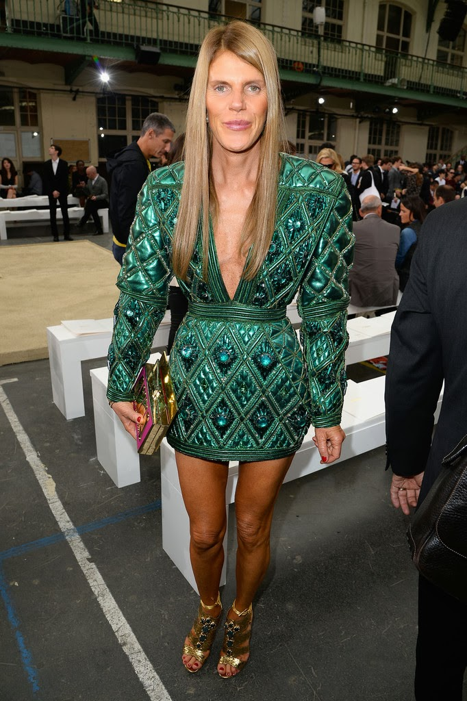 I might have figured out why Anna Dello Russo bothers me so much. It's not just that she's trying way (way way) too hard. The thing is that Ms. Dello Russo ...