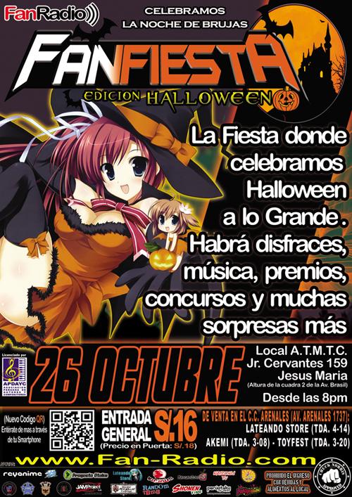 FanFiesta edición Halloween 2013