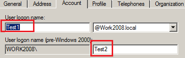 samAccountName vs userPrincipalName in Active Directory