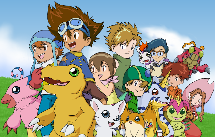 Digimon Adventure 54/54  Temporada 1 Audio Latino