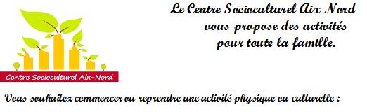 Centre Social et Socioculturel Aix Nord