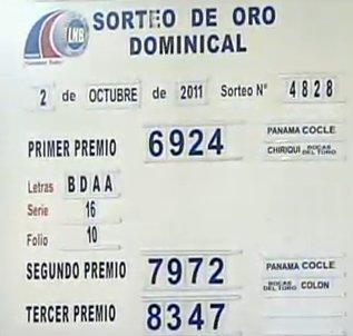 Numeros Jugados De Loteria De Panama