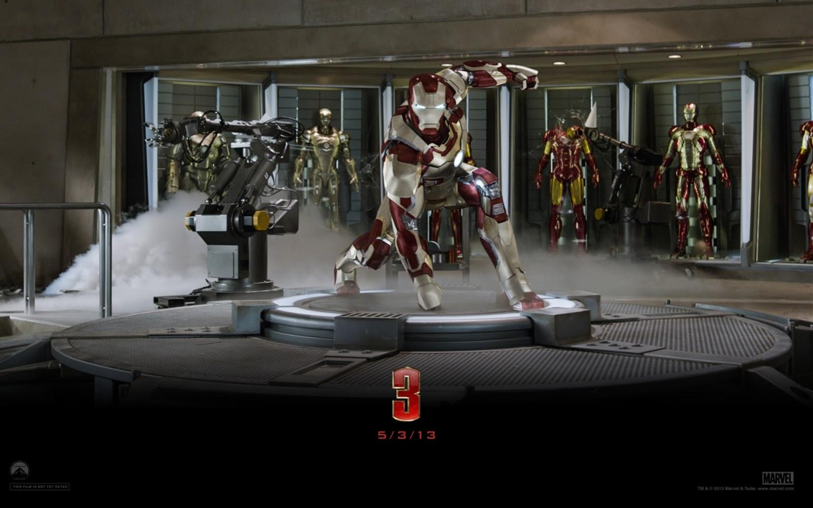 2013 Iron Man 3 Movie