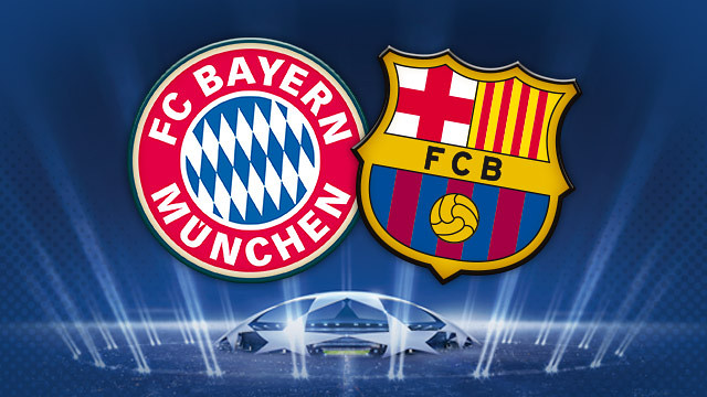 Hasil Pertandingan Bayern Munchen vs Barcelona 24 April 2013
