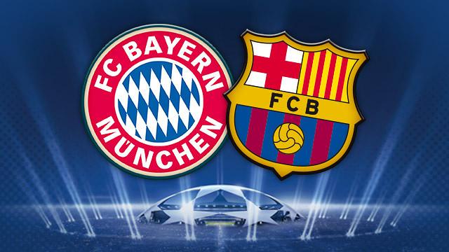 skor, hasil, akhir, pertandingan, bayern, munchen, barcelona, liga, champions