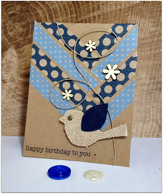 Scrapping With Christine Easy Birthday Card Ideas
