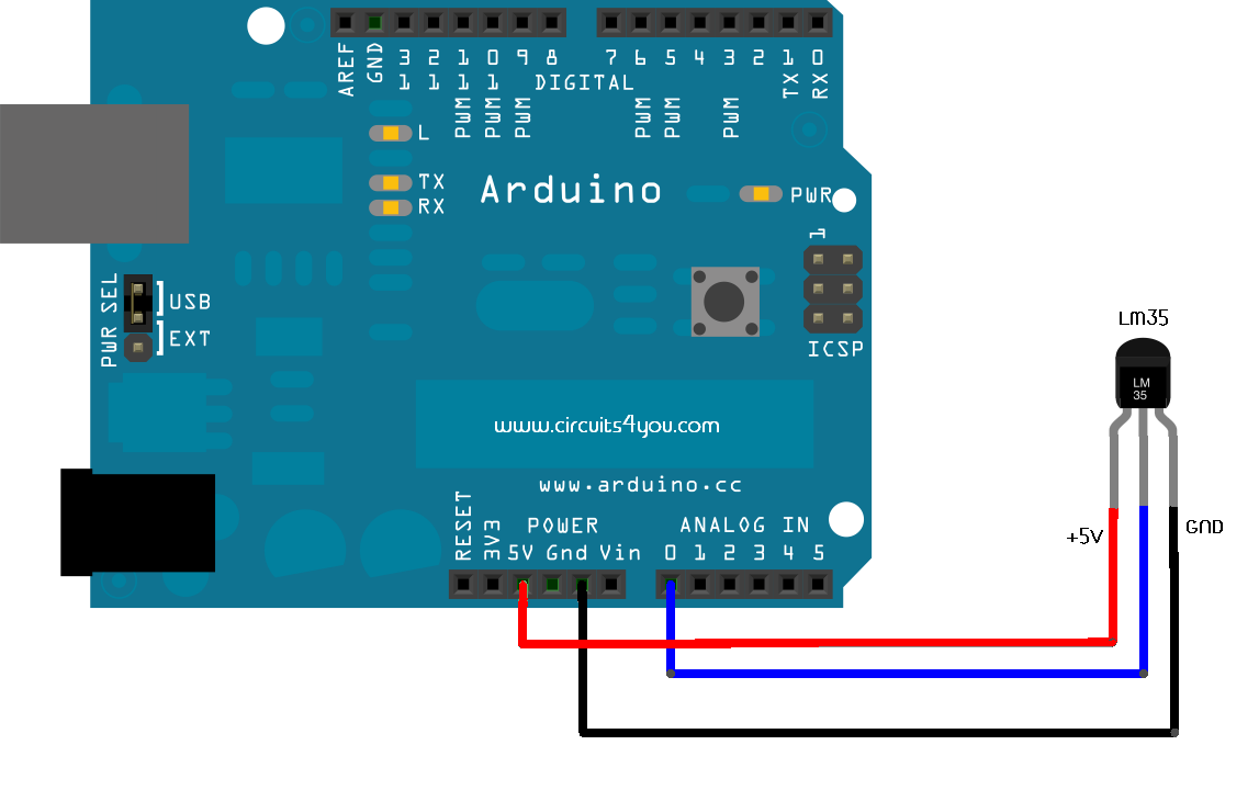 Lm temperature sensor interfacing with arduino