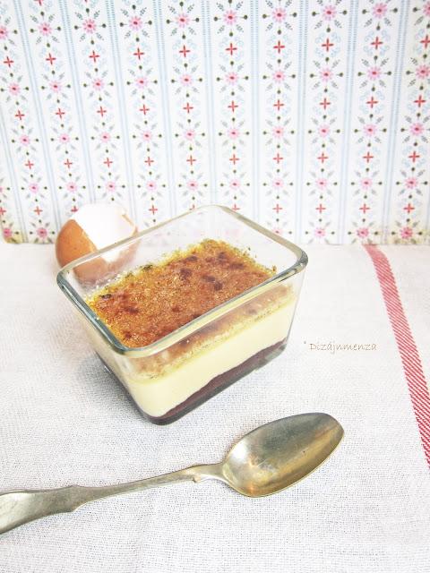 gasztroblog, Sós-karamellás camembertes creme brulee birsalma és rózsaszirom zselével, recept, vanília