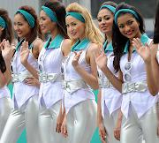 La chicas de la F1: Turno para Malasia. chicas malasia