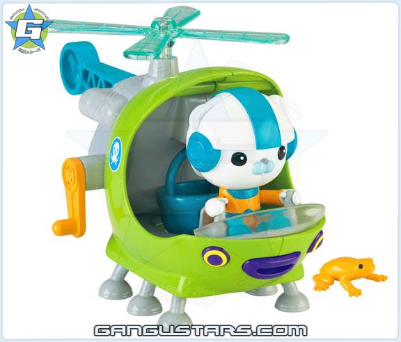 Octonauts Gup-H Barnacles 2015 toys オクトノーツ キャプテン・バーナクルズ ディズニー Fisher-Price mattel the Octonauts