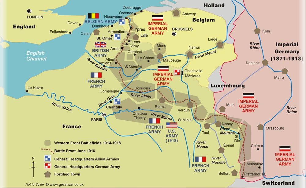 major world war i battles The 20 most important battles of world war ii a major deception operation fooled the germans into thinking that the landings were a feint.