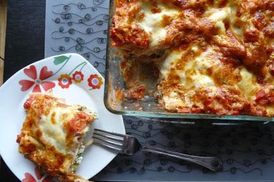Brokułowa lasagne z 3 serami