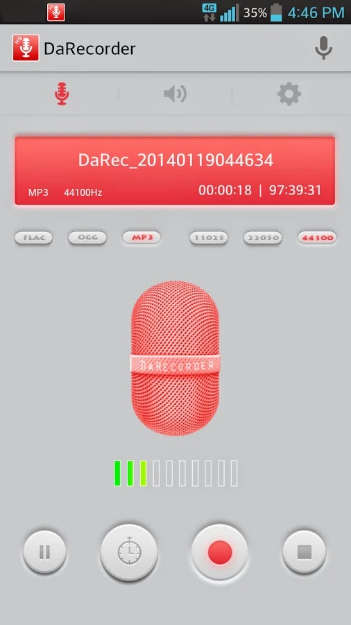 High Quality Voice Recorder v2.2.E4GR