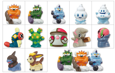 Pokemon Kids BW Landorus set Bandai