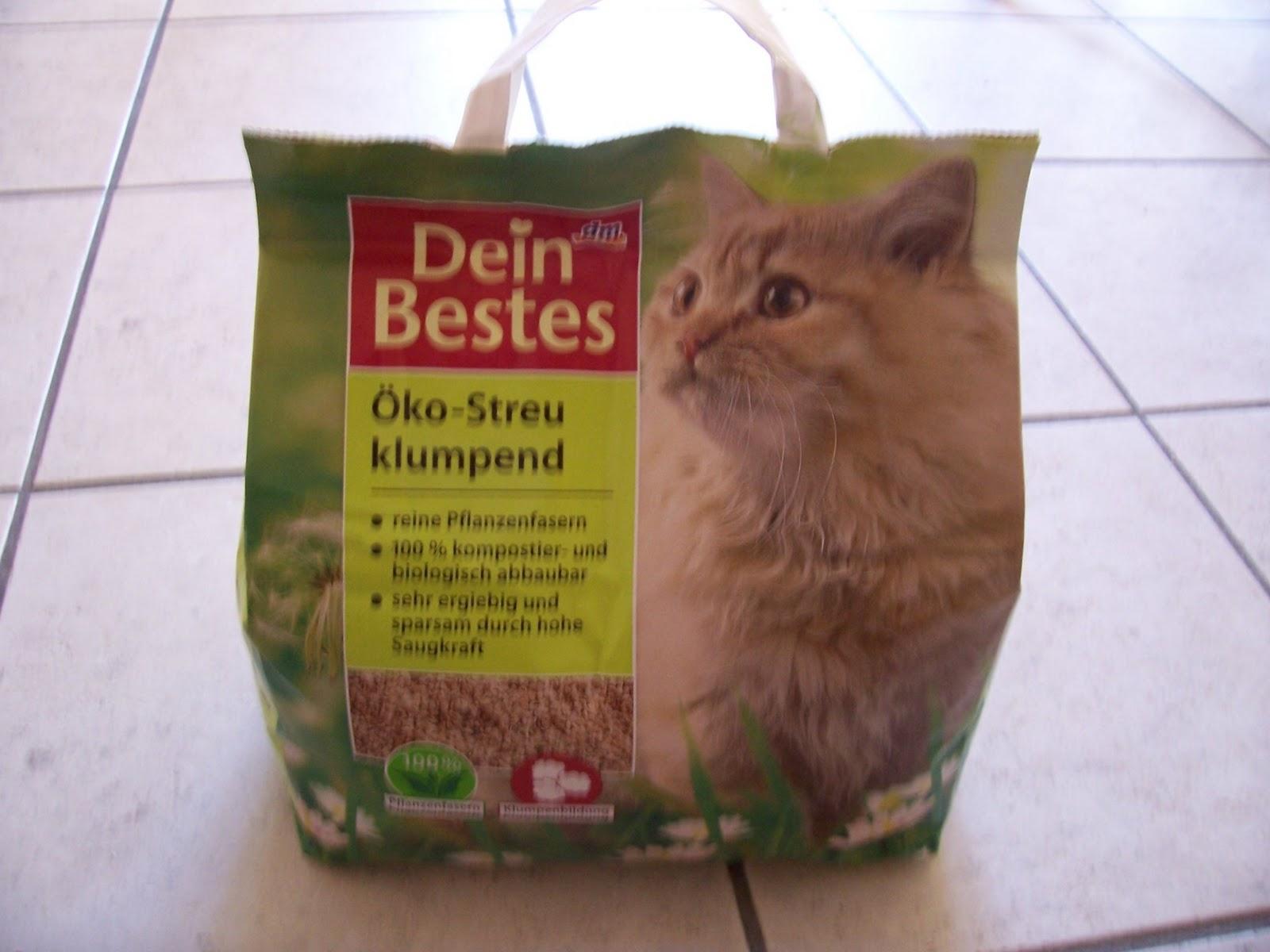 Katzenwissen Erfahrungsbericht Dein Bestes öko Klumpstreu