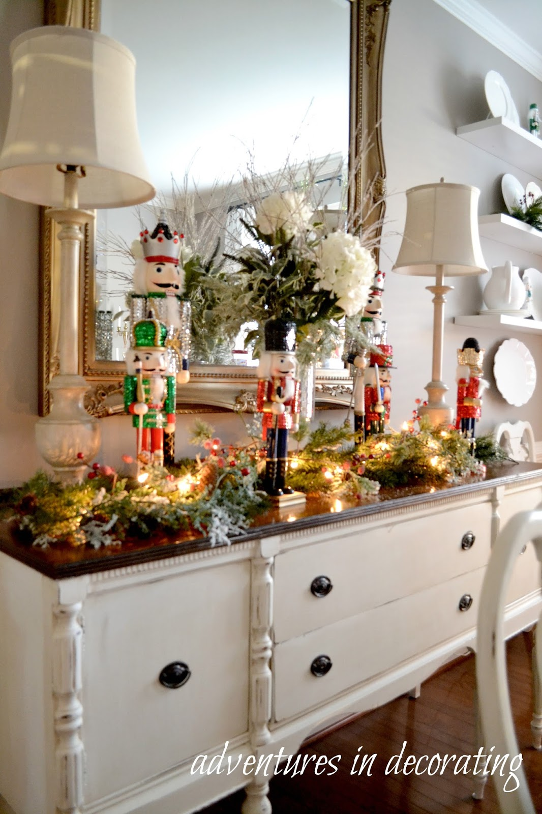 Adventures in Decorating: Our 2015 Christmas Dining Room ...
