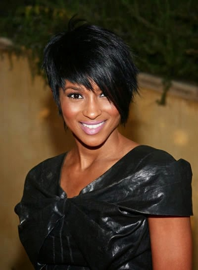 Short Black Hairstyles For Women With Bangs