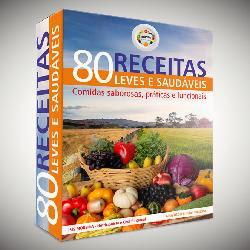 80 Receitas Leves e Saudáveis