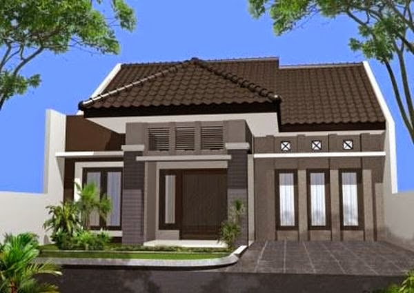 contoh model rumah minimalis 6