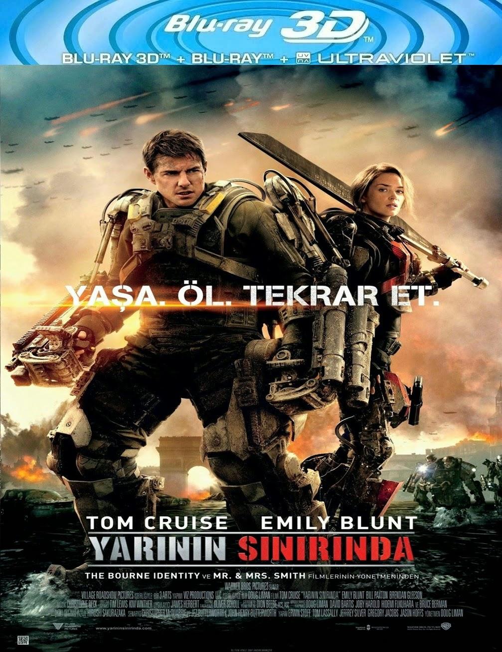 Yarının Sınırında (2014) 3D Film indir