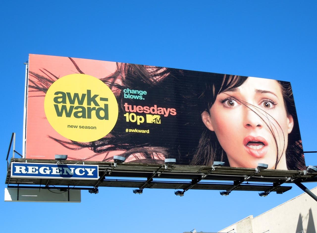 Ashley Rickards 2013 Awkward Awkward season 3 mtv billboard