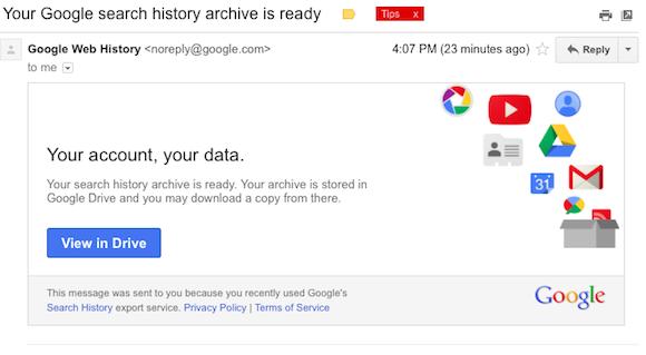 google history view