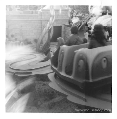 Alice in Wonderland original Disneyland polaroid swinger