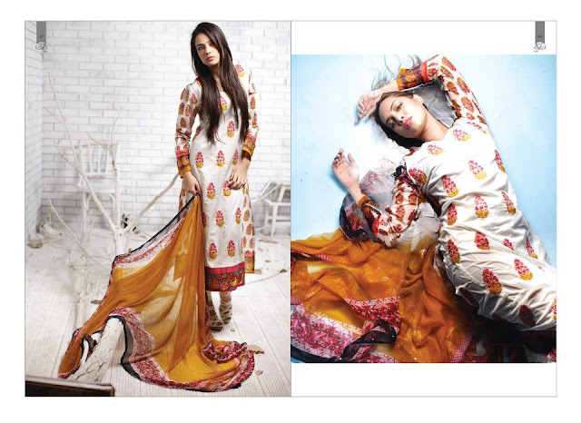 PrintedEmbroideredLawnwwwShe9blogspotcom252832529 - Rabea Designer Lawn Collection | Embroidered Lawn Collection of 2