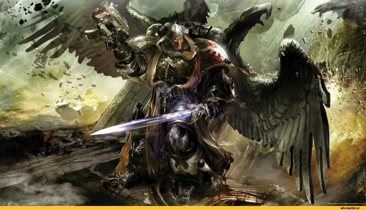 Warhammer 40k death company wallpaper - Allied Angels And More Death Company
