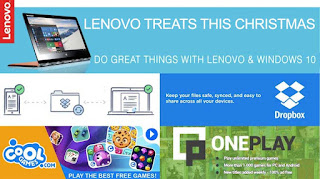Lenovo Philippines promo, freebies, contest, raffle
