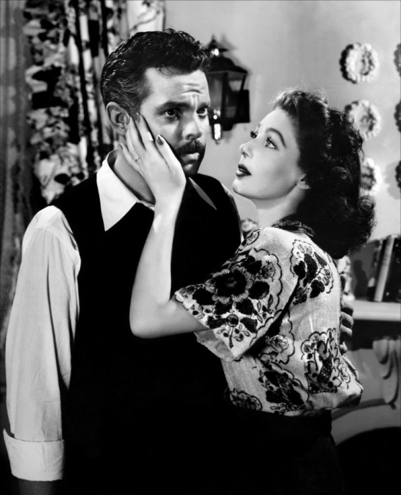 Detalle de un fotograma de la película de Orson Welles; The Stranger (1946)