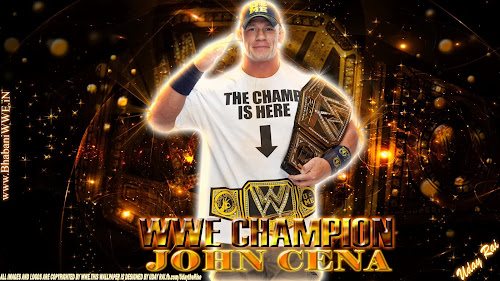 "Download ""WWE Champion"" John Cena 3D HQ Wallpaper (Designed By Uday Rai via iPOST), 11 years strong wallpaper john cena, john cena 2013 new wallpaper"