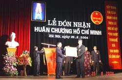 Tổng cục Thuế đón nhận Huân chương Hồ Chí Minh