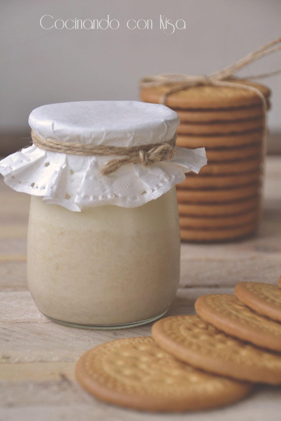 Cocinando con kisa yogur de galletas forma tradicional for Cocinando con kisa