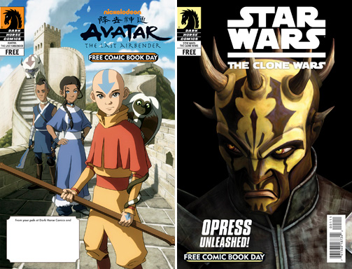 avatar comic book day