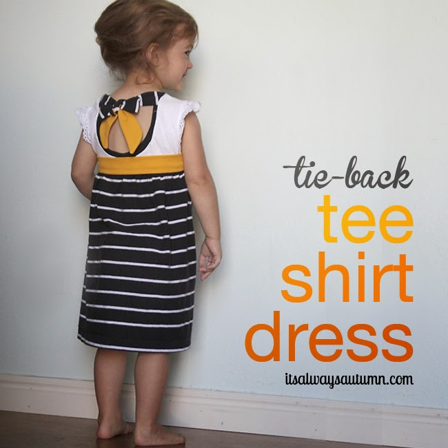 Tee-shirt Dress Tutorial