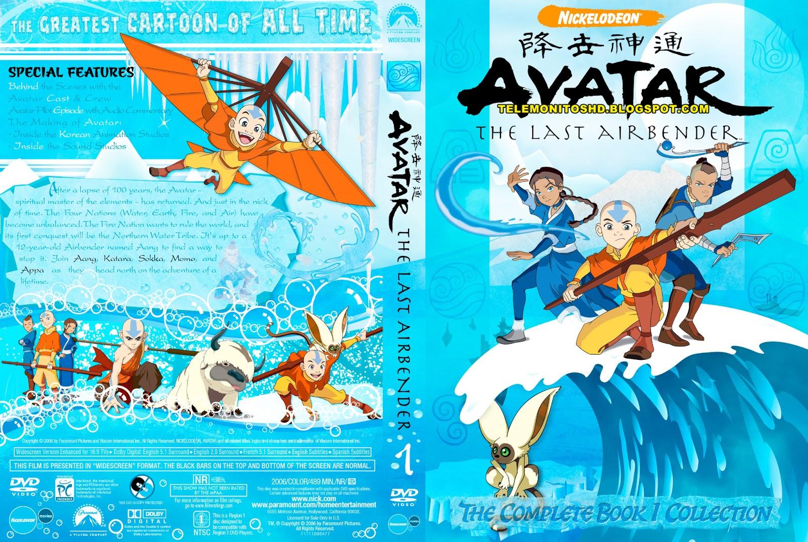 Serie Avatar La Leyenda De Aang Espanol Latino