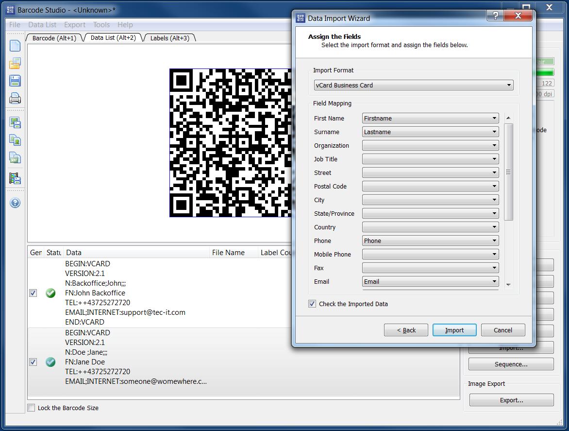 2d Barcode Generator Software