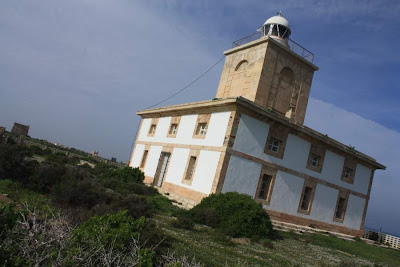 Lighthouse in Isla de Tabarca