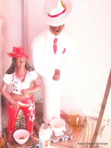 Malandros : Seu Zé Pelintra da Lapa e Dona Maria Navalha ;