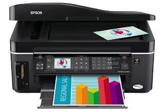 Epson WorkForce 600 Manual Guide