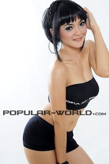 hot Nevilia Angelica for Popular World BFN, July 2012