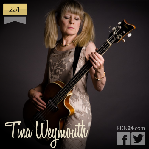 22 de noviembre | Tina Weymouth - @TalkingHeadsNet | Info + vídeos