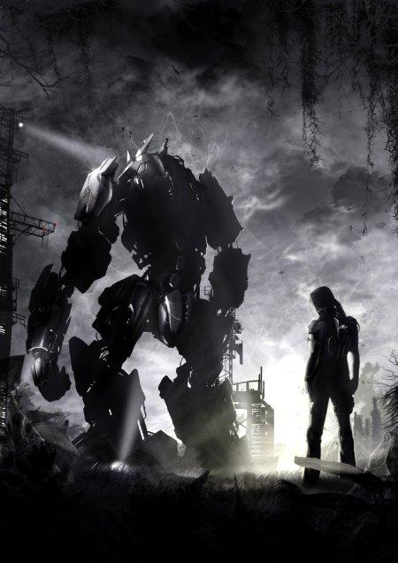 vincent ptitvinc deviantart ilustrações artes conceituais fantasia futurista robôs tecnologia Robô gigante
