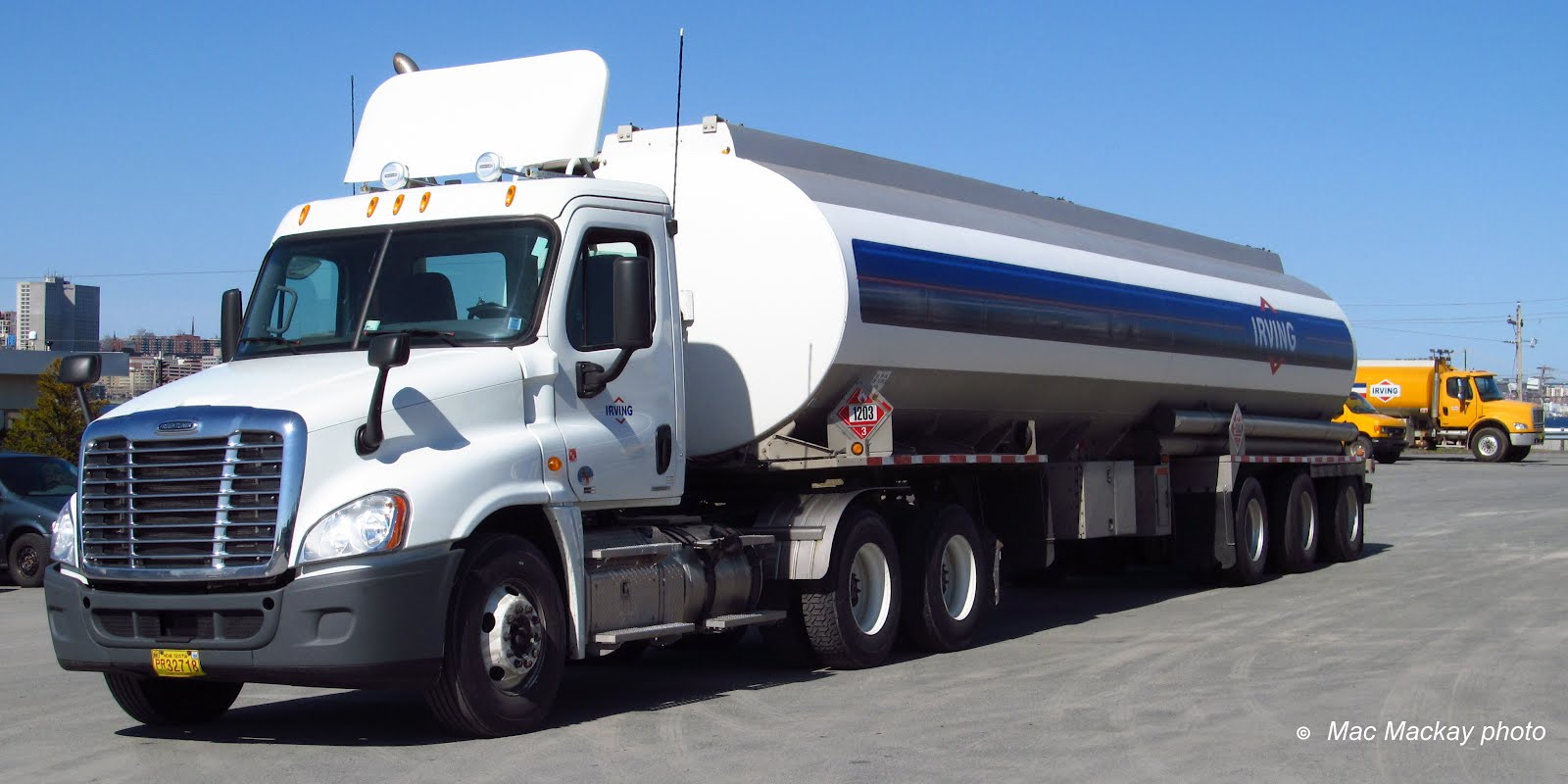 Semi Truck Oil : Truckfax irving oil update