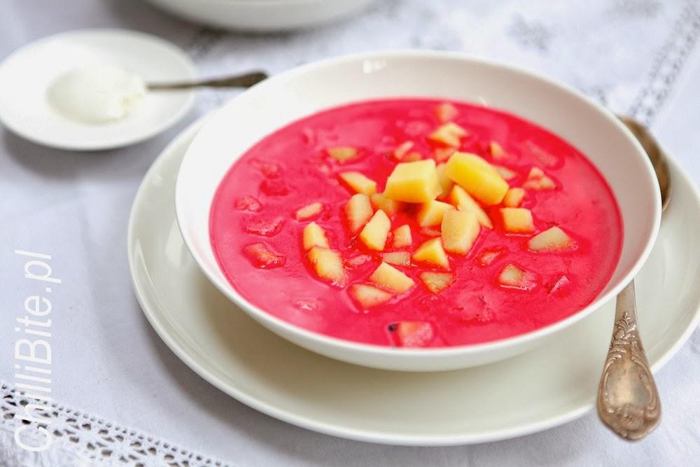 Chillibite Pl Motywuje Do Gotowania Barszcz Zabielany Zupa Na